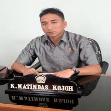 Wakil Ketua Fraksi Partai Nasdem, Keegan Kojoh