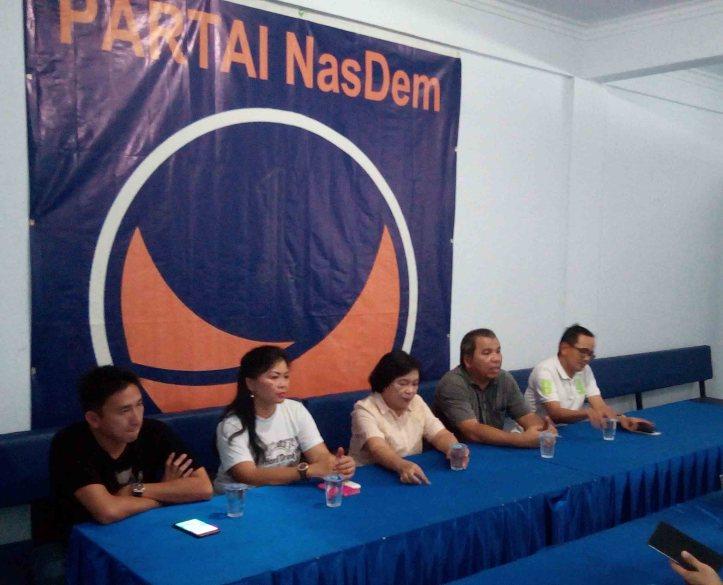 DPD Partai Nasdem Kota Bitung, sampaikan sejumlah program untuk mengatasi sejumah permasalahan yang ada di Kota Bitung